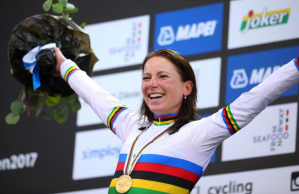 Annemiek wins the 2017 World Championship TT